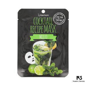Cocktail Recipe Mask Mojito