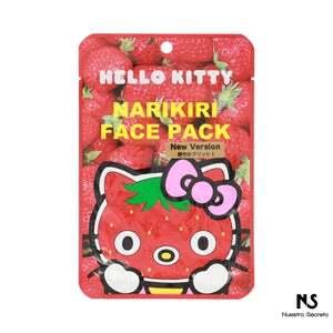 Narikiri Face Mask: Strawberry