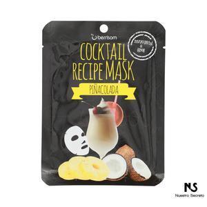 Cocktail Recipe Mask Piña Colada
