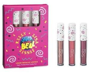 Saved By the Bell Liquid Lipstick Trio Jessie, Kelly & Lisa
