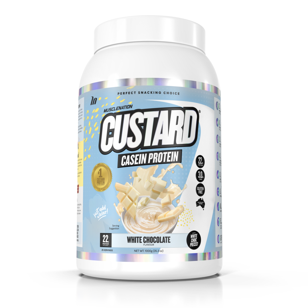 Muscle Nation Casein Custard