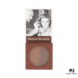 Brett Brow Duo Powder  Medium Brunette