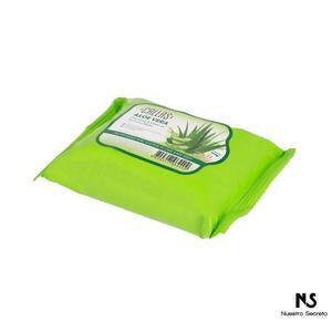 Cleansing & Make Up Remover Wipes Aloe Vera