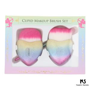 2 Pieces Makeup Brush Set DB-CUPID