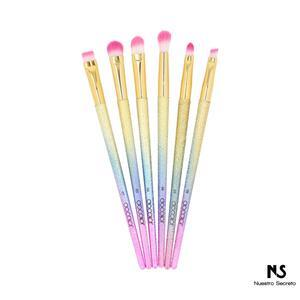 6 Pieces Fantasy Eye Brush Set
