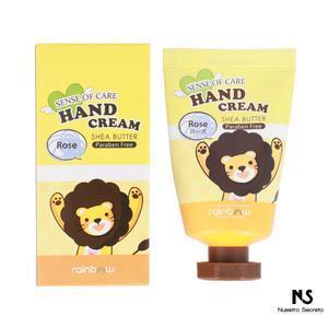 Hand Cream Shea Butter (Rosa)