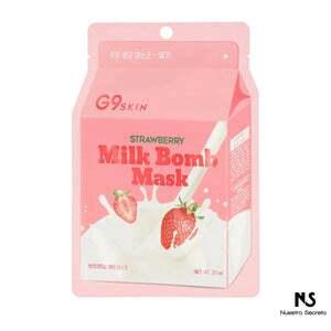 Milk Bomb Mask Strawberry