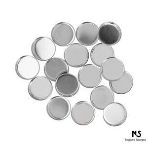 Round Empty Metal Pans