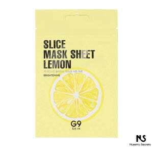 Slice Mask Sheet Lemon