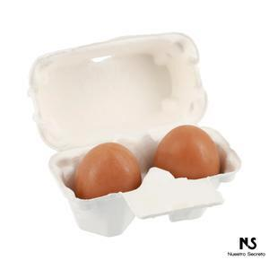 Smooth Egg Skin Egg Soap Red Clay