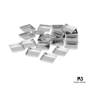 Square Empty Metal Pans