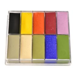 Fard Creme Palette 10-Color AC4