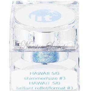 Lit Cosmetics Ltd - Hawaii 5/0 - Size #3 (blue) - Nuestro Secreto
