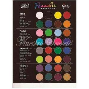 Mehron - Paradise Makeup AQ - Amazon Green - Nuestro Secreto
