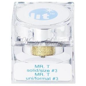 Lit Cosmetics Ltd - Mr. T - size #3 (gold) - Nuestro Secreto