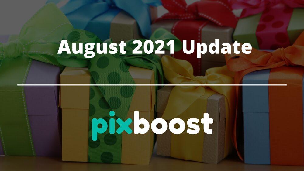 August 2021 update