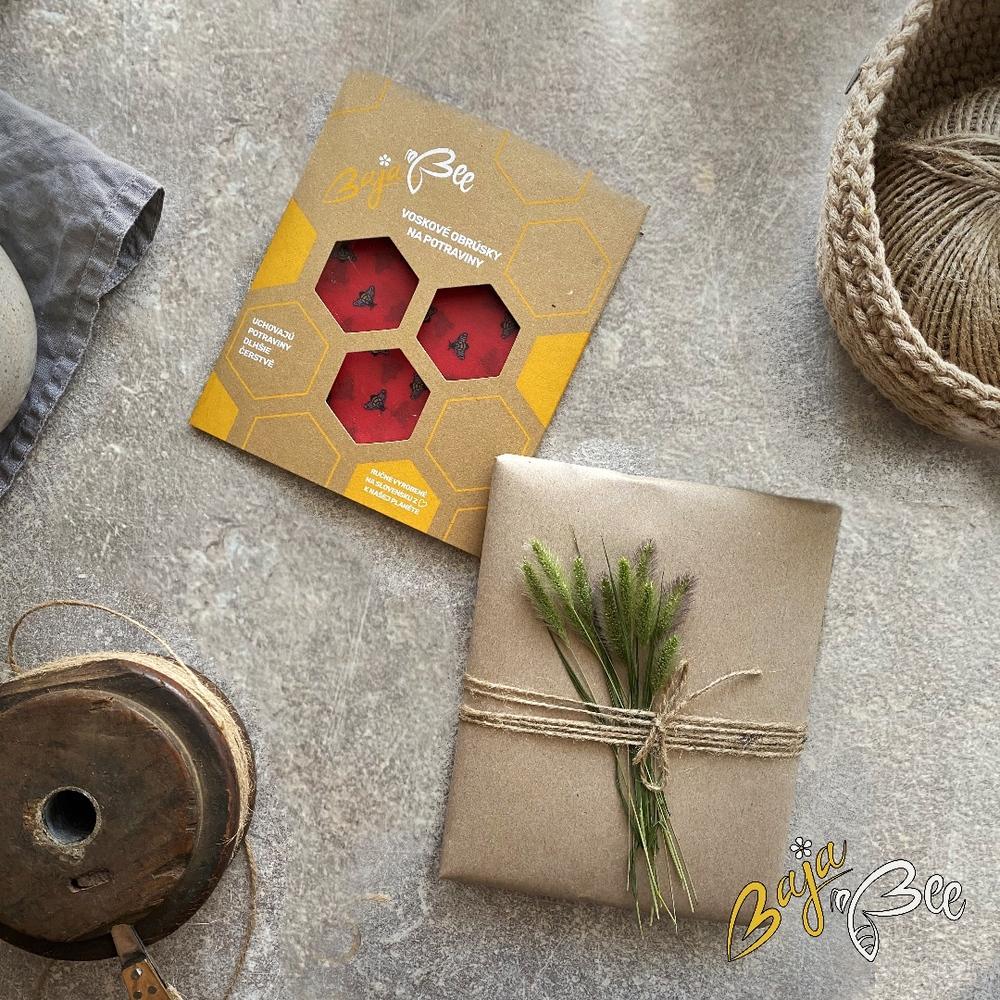 Darčekové balenie z papiera