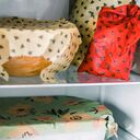 "Voskové obrúsky ""BajaBee"" - Multipack, žlté včielky, 4 ks"