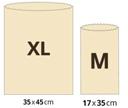 """Výhodné balenie vreciek - """"BajaBee"""" XL + M"""