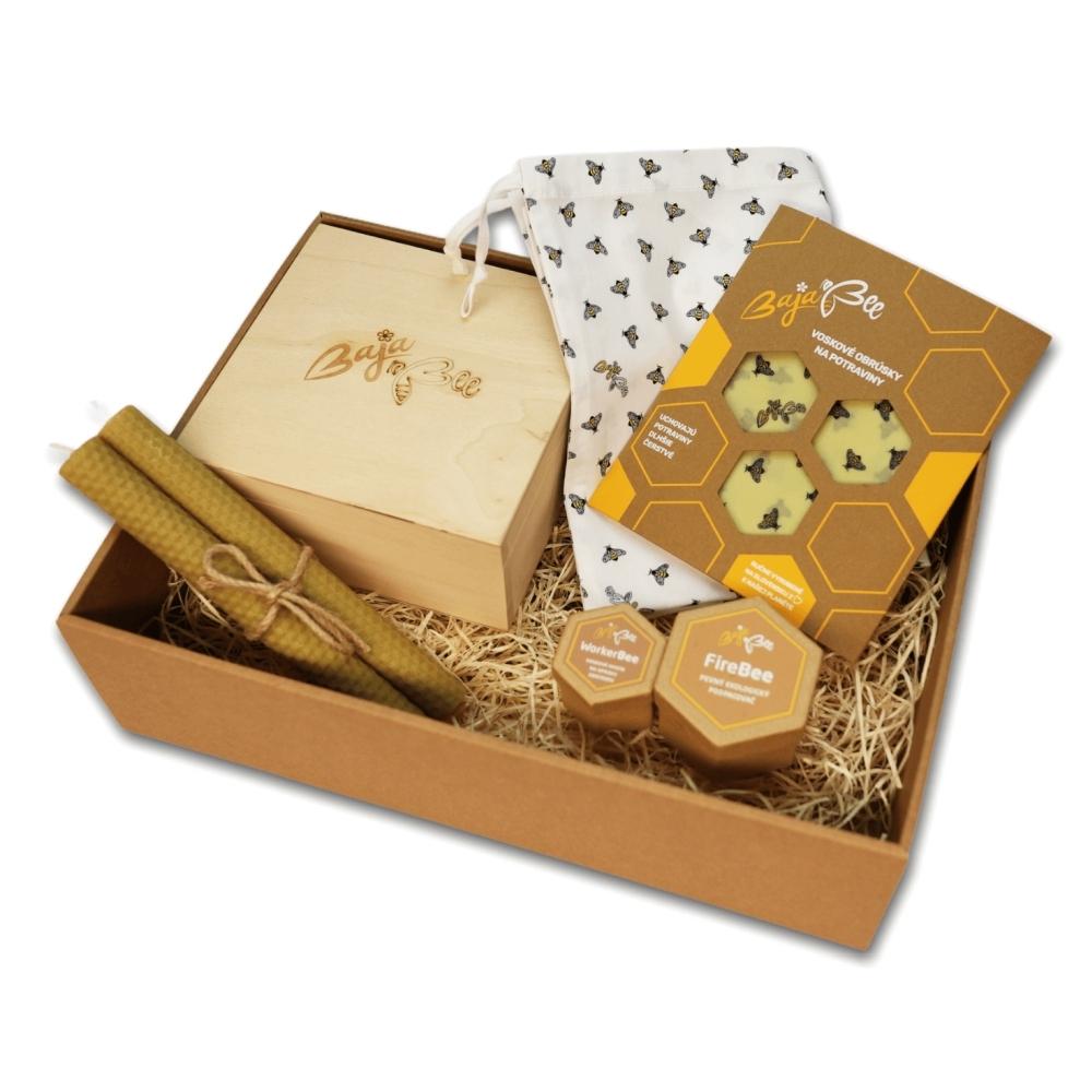 Darčekový box BajaBee - žlté včielky
