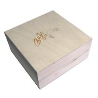 Drevená krabička na voskové obrúsky
