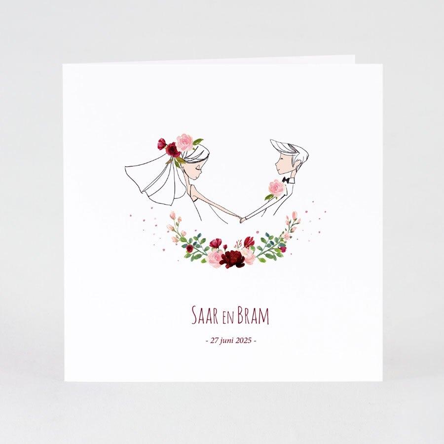 leuke-trouwkaart-bruidspaar-en-bloemenkrans-TA0110-1900055-15-1