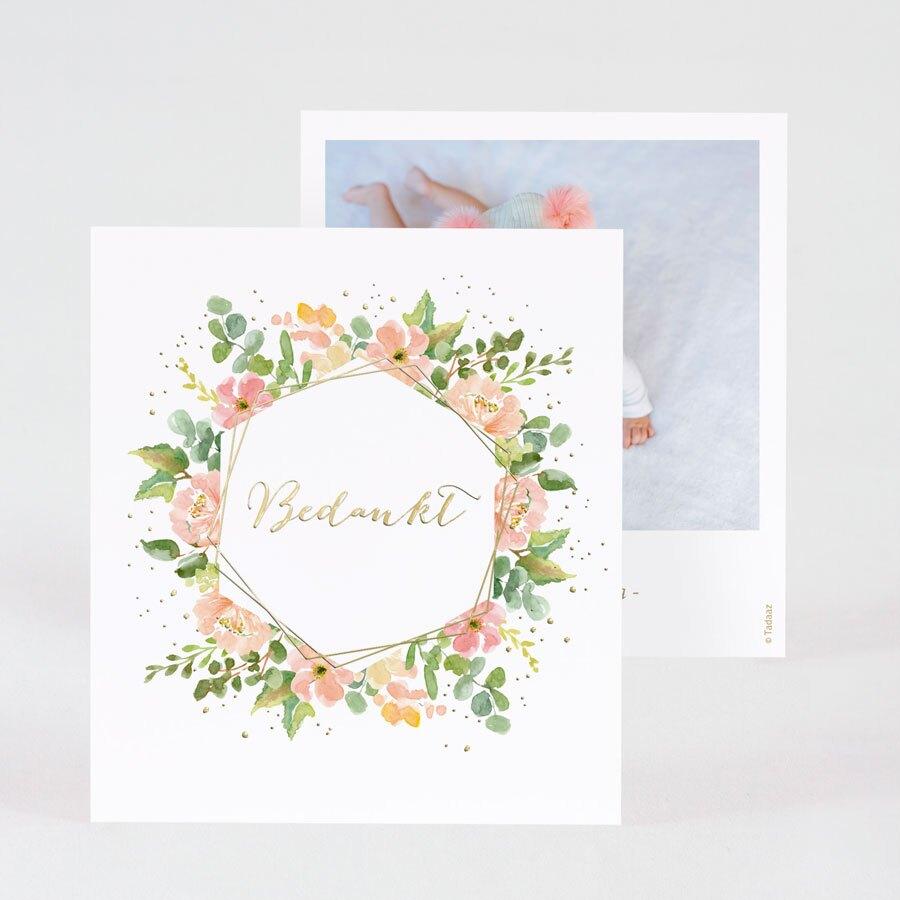 geboorte-bedankkaartje-met-kleurrijke-bloemenkrans-en-goudfolie-TA0517-2000005-15-1