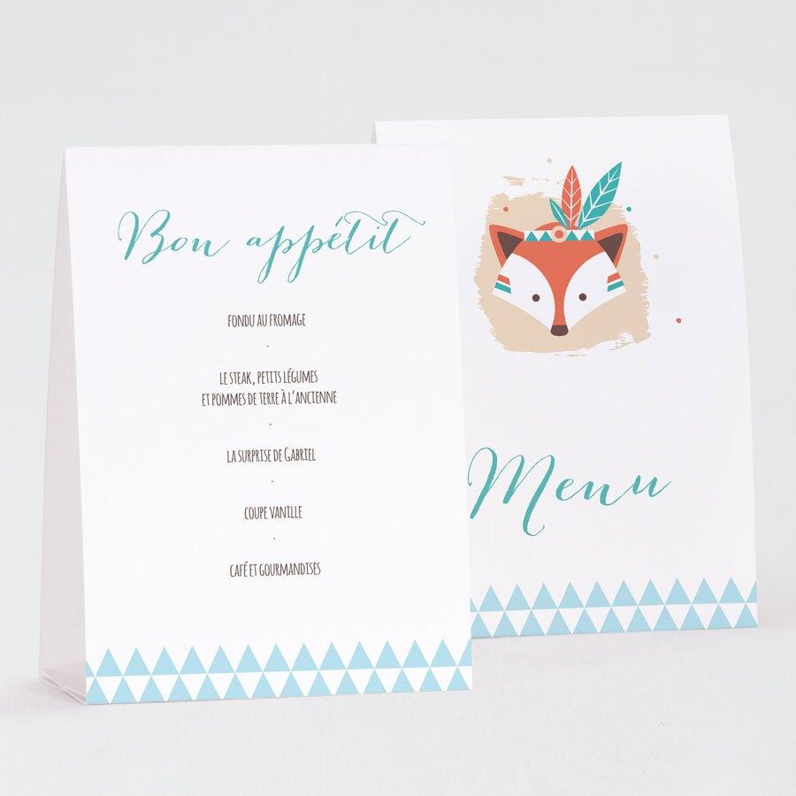 menu-chevalet-bapteme-renard-indien-TA0529-1800001-09-1