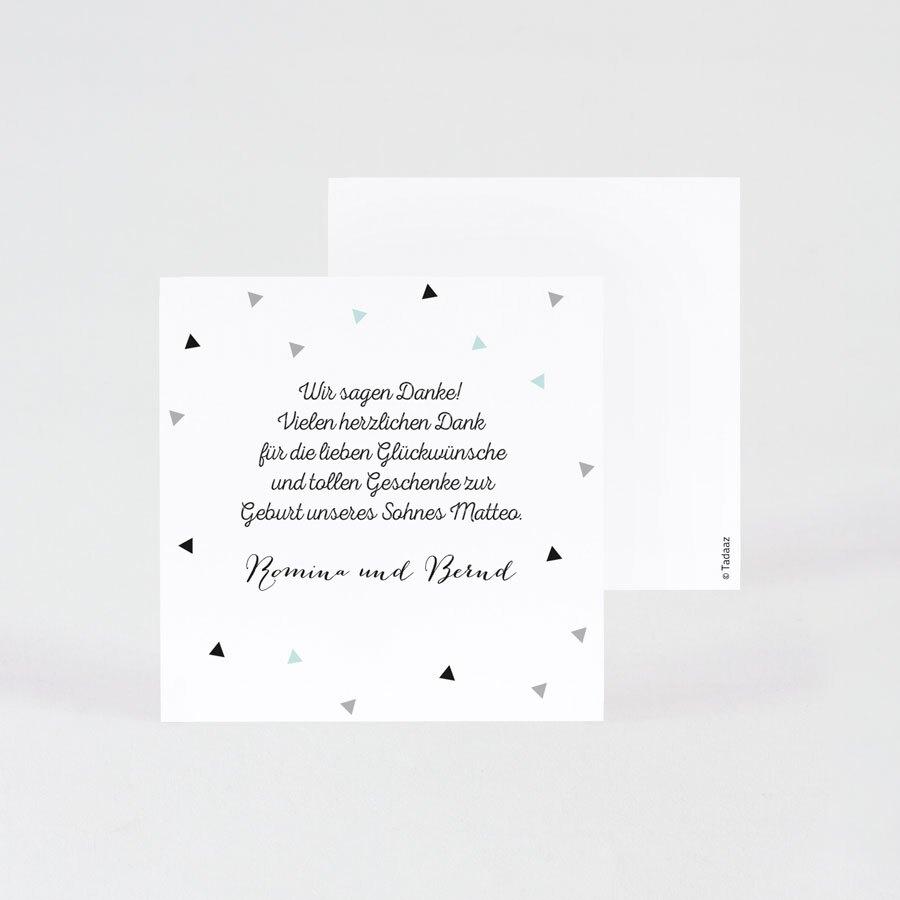moderne-dankeskarte-geburt-mit-schreibschrift-und-dreiecken-10x10cm-TA0557-1700009-07-1