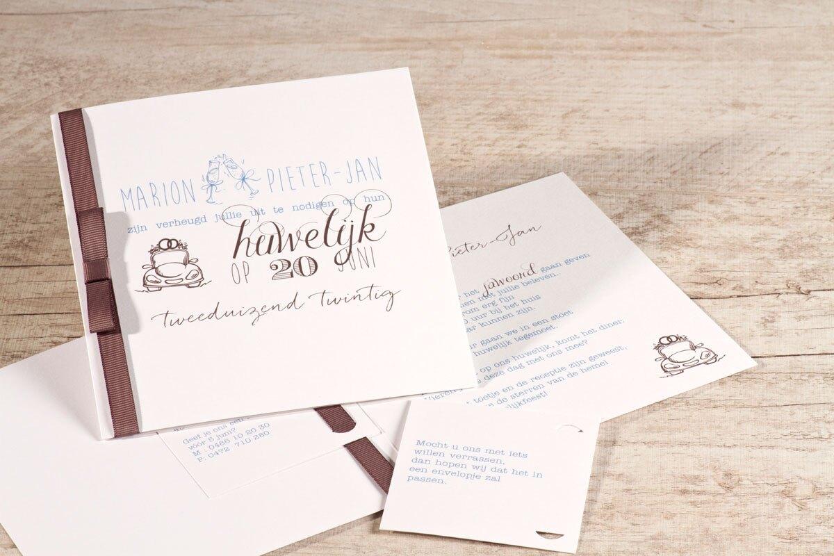 chique-witte-kaart-met-luxe-bruin-lint-buromac-106081-TA106-081-15-1