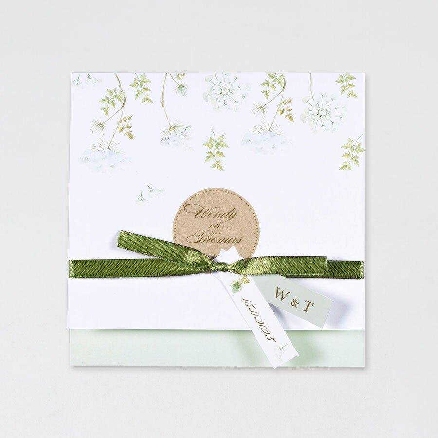 trouwkaart-groene-bloemen-met-kraftlook-buromac-108008-TA108-008-15-1