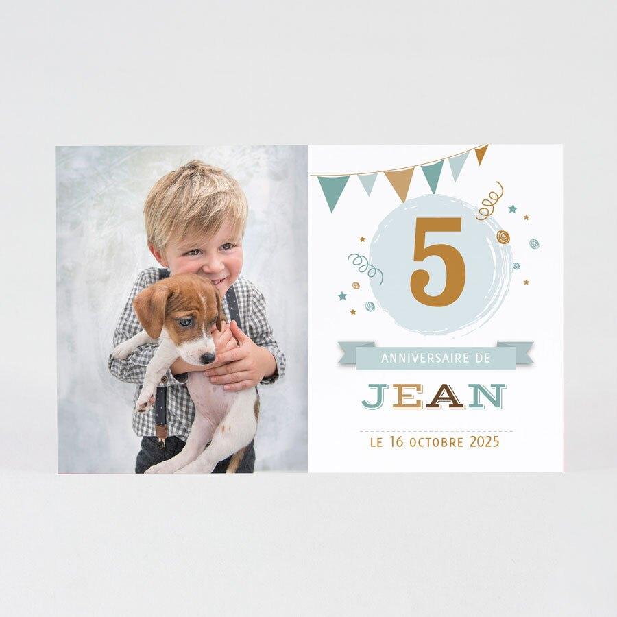 carte-d-invitation-anniversaire-enfant-photo-et-fanion-TA1327-1800012-09-1
