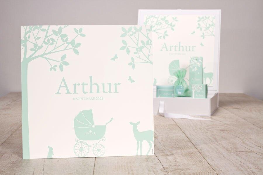 poster-naissance-vert-menthe-animaux-de-la-foret-TA1573-1800011-09-1