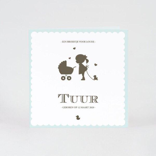 silhouetkaartje-grote-zus-mintgroen-buromac-505095-TA505-095-15-1