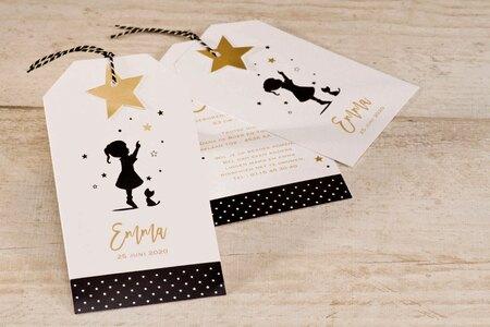 silhouetkaart-meisje-black-white-en-touch-of-gold-buromac-586121-TA586-121-15-1