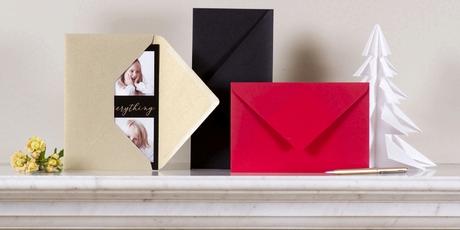 Enveloppe carte de voeux